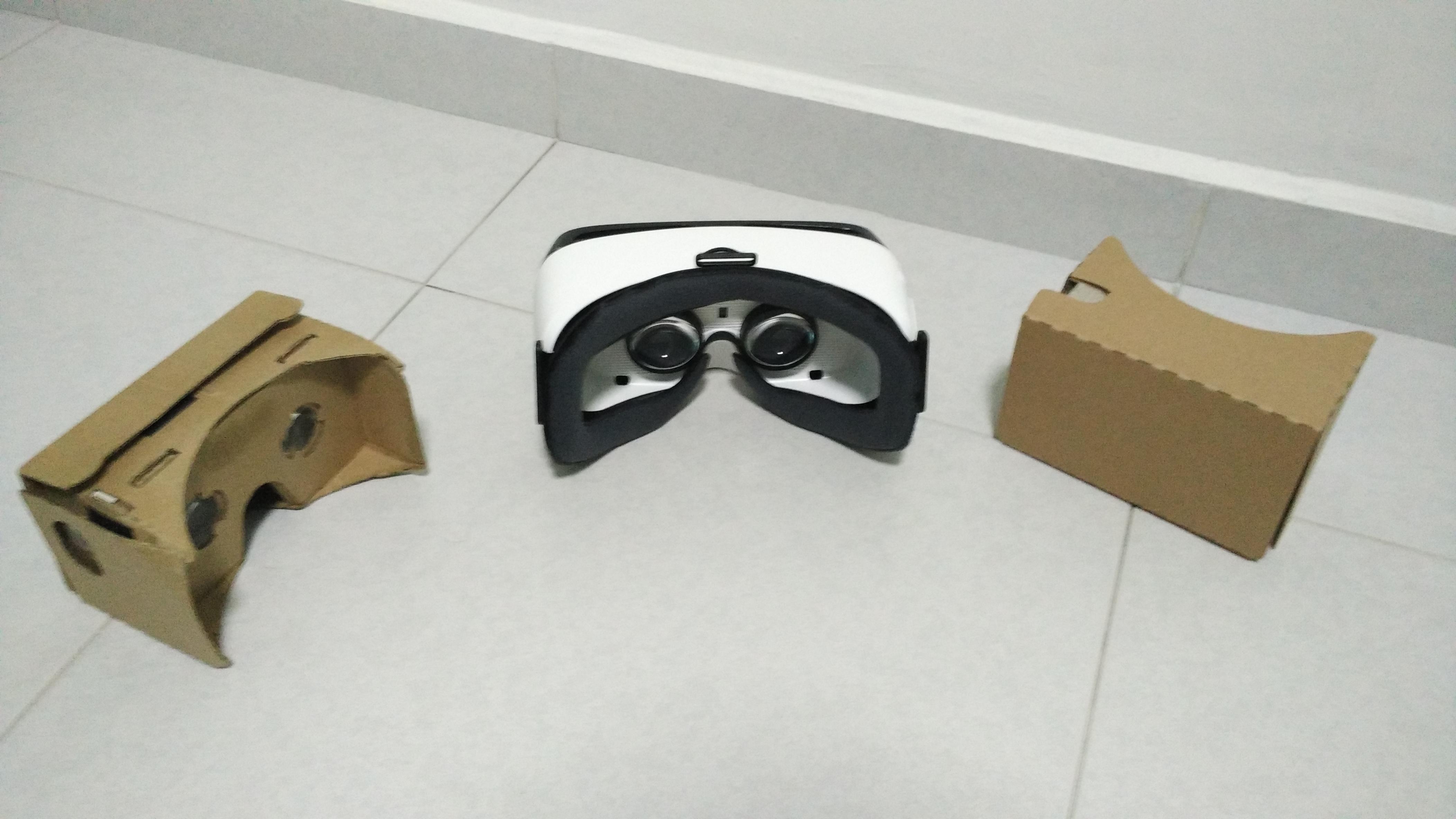 Mobile VR HMD