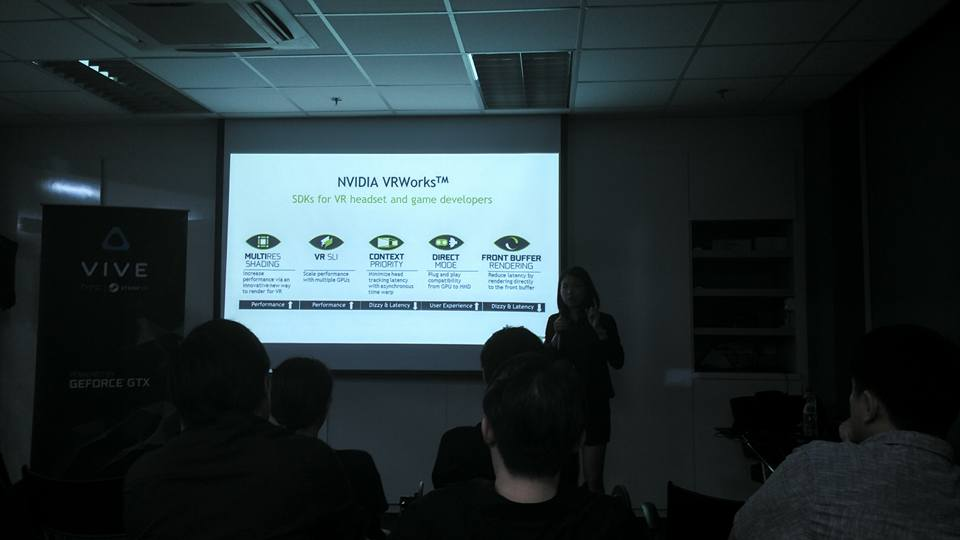 Nvidia VR Works Showcase