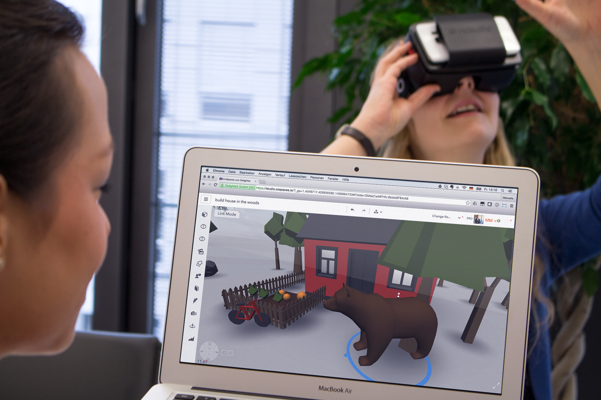 CoSpaces: How to create and jump into VR with ease