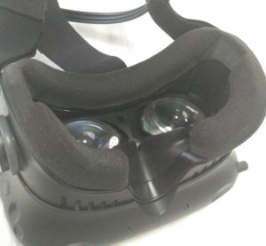 Face pad and lens