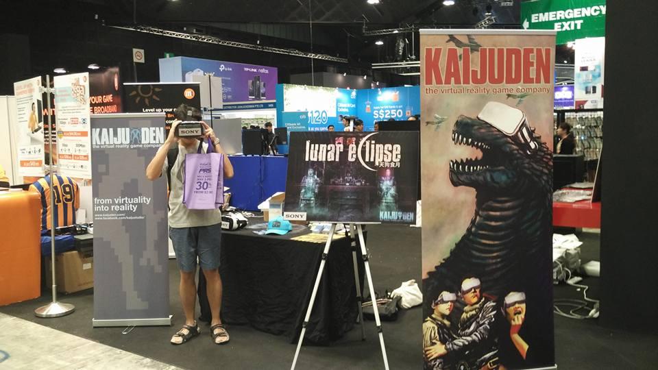 Kaiju Den at Comex