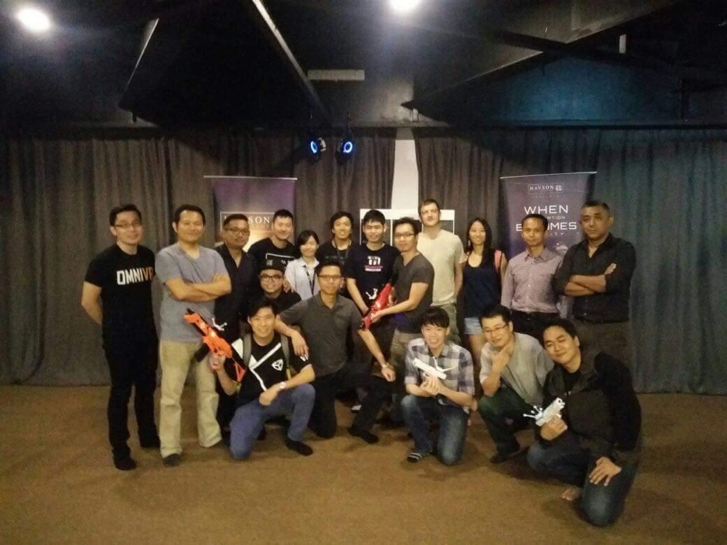 EXA VR PARK + GIOCHITECH: One Day Malaysia VR Company Trip