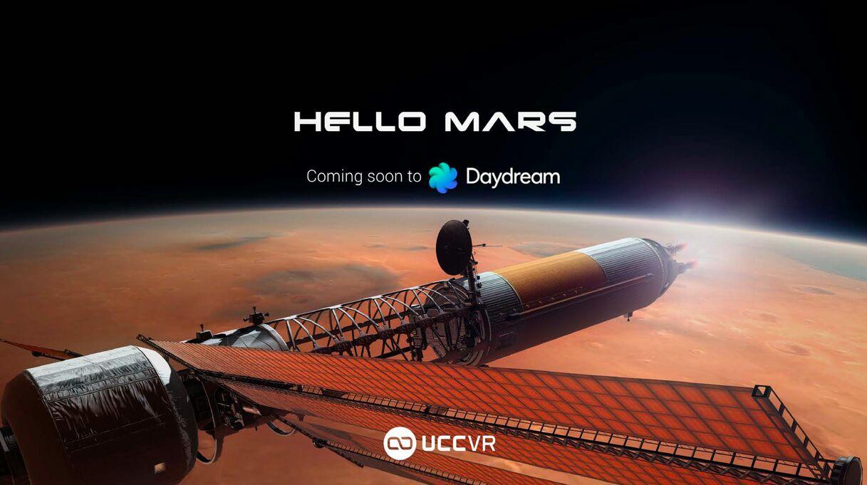 UCCVR first daydream app: Hello Mars