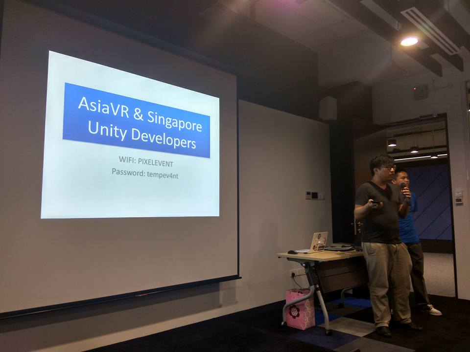 AsiaVR & Singapore Unity Developer Meetup 23rd February 2017