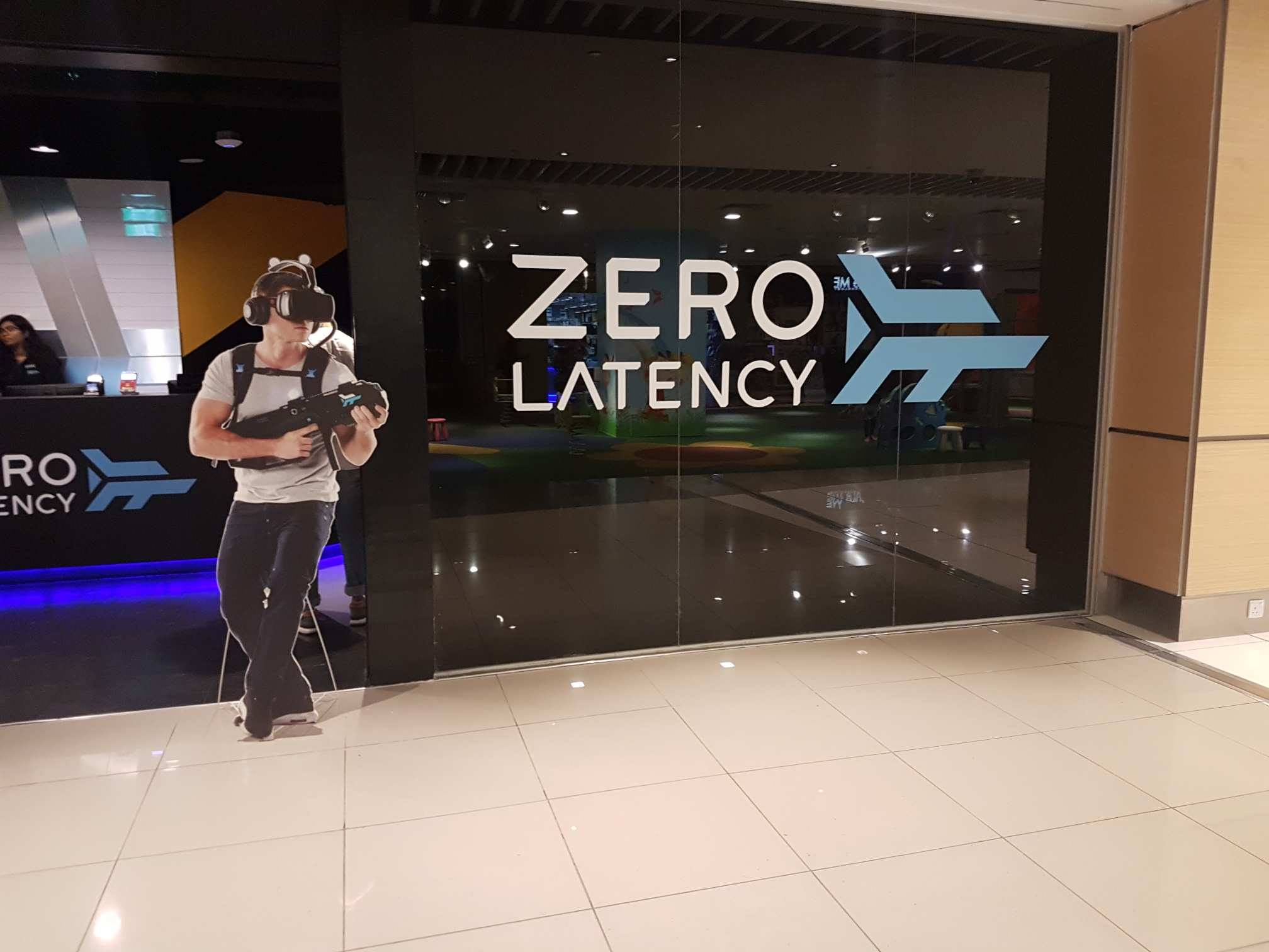 Zero Latency Singapore Review: Free Roam Multiplayer VR Experience