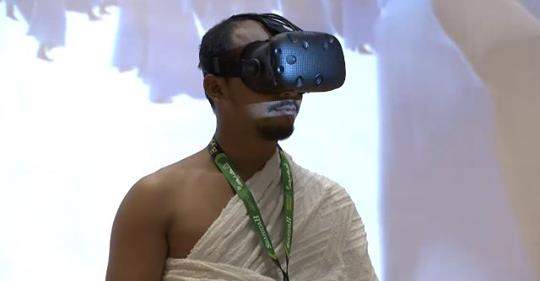 Singaporean congregants attend VR Umrah course (Translated from BeritaMediacorp)