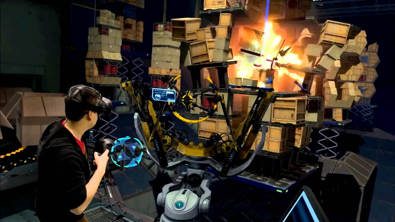 VR Event Booth Games: The Lab – Slingshot Review