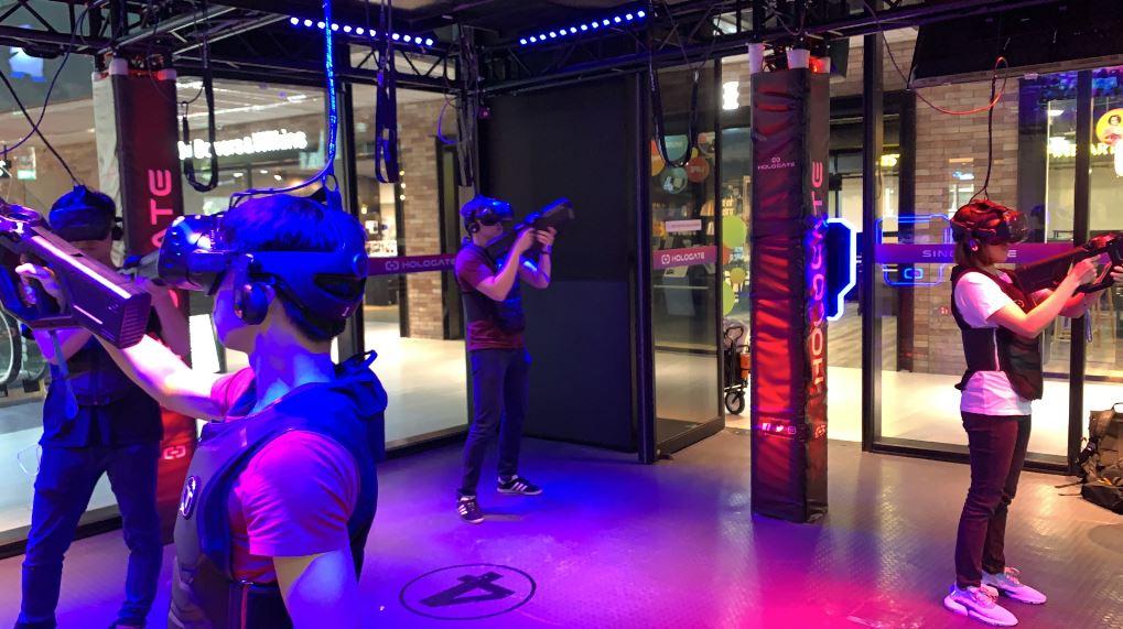 VR Arcade Review: Hologate Singapore