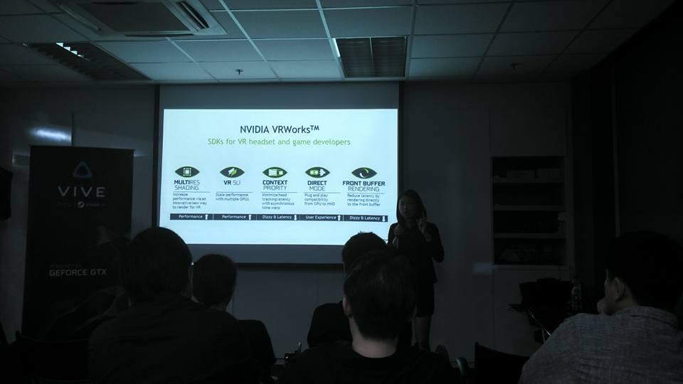 Nvidia VR Works Showcase