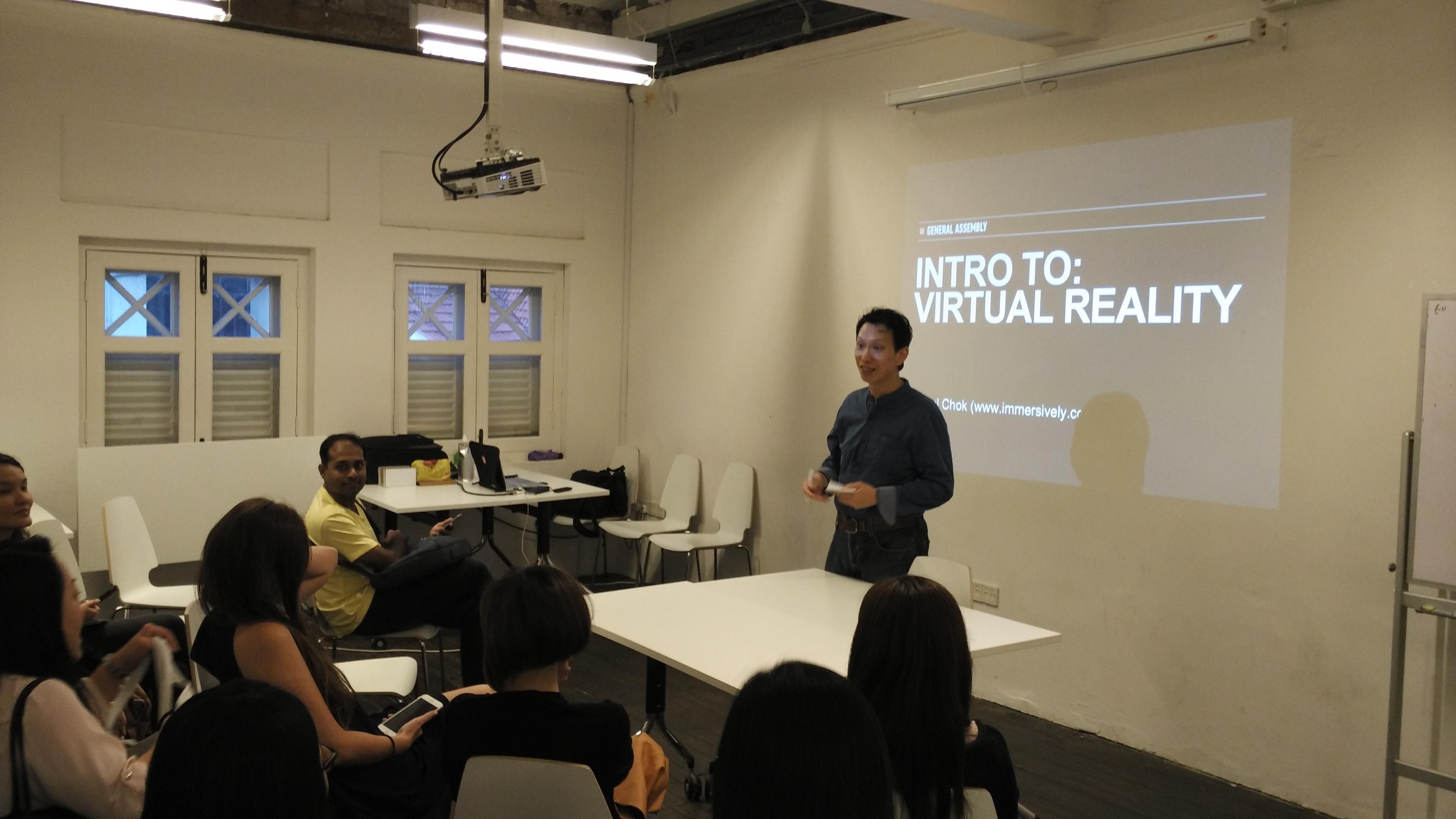 Intro to VR workshop