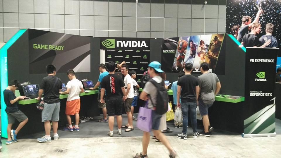 Nvidia VR experience