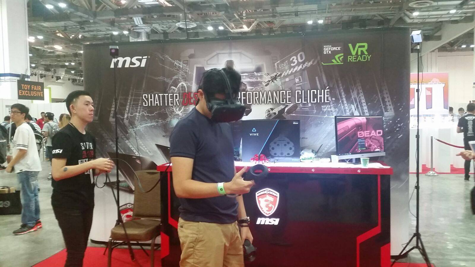 MSI and HTC Vive